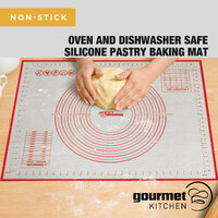 Gourmet Kitchen Silicone Pastry Mat 60X80Cm