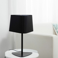 Sherwood Olivia Black Table Lamp Large