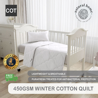 Natural Home Winter Ingeo Quilt 450Gsm Double Bed