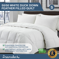 Dreamaker Summer Duck Down Quilt Single Bed