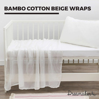 Dreamaker Bamboo Cotton Beige Wraps