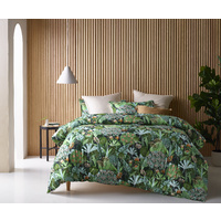 Accessorize Bedroom Daintree Washed Cotton Digital Printed Comforter Set