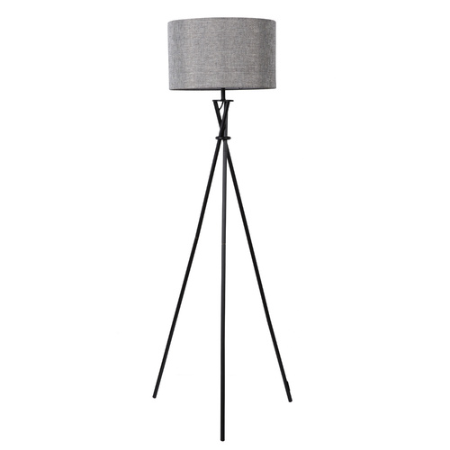 Sherwood Lighting Tripod Floor Lamp - Grey