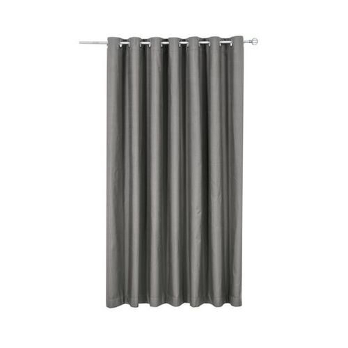 Sherwood Rock Natural Blockout Curtains Metal Eyelet Plain Solid Shade Blackout Curtain
