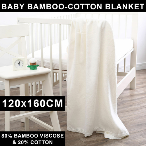 Dreamaker Baby Bamboo Cotton Blend Blanket